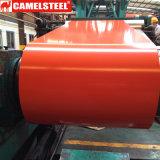 Покрынный цвет CGCC Prepainted гальванизированная стальная катушка