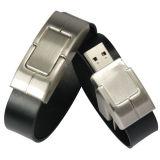 Disco de couro do USB da função do Wristband, 12-17Mbps leitura Speed/4 à velocidade da escrita 6Mbps