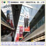 De glanzende Achter Lichte Flex Gelamineerde Banner van pvc met Uitstekende kwaliteit voor Digitale Druk