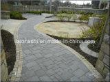 景色のための自然な花こう岩か玄武岩または転落させた玉石または立方体または立方敷石/ペーバーの石、庭