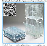 Foladable & stapelbare Wire Mesh Pallet Container voor opslag in het magazijn