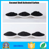 Carbono ativado do coco da capacidade de refinamento do ouro escudo elevado