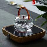 теплостойкmNs чайник боросиликатного стекла 800ml с стеклянной ручкой/стеклянным чайником чая/стеклянным чайником воды