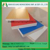 가구를 위한 색깔 여러가지 4.2mm 멜라민에 의하여 박판으로 만들어지는 MDF