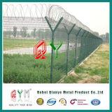 Fixer la frontière de sécurité de barbelé de protection de périmètre pour la production d'aéroport