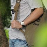 Sport-Uhr-Form-beiläufige wasserdichte Goldbatterie-Kalender-Uhr der Belbi Männer