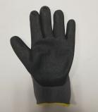 с перчатками покрытия нитрила Nylon белыми