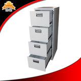 Cabina de fichero de acero de los muebles de oficinas del cajón al por mayor barato del blanco 4