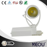 Hohes Grade 2/3/4-Phase Single Head 30W LED COB Track Light