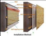 Type en plastique panneau de matériaux de construction de mur extérieur en métal