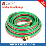 Grüner u. roter Schweißens-Schlauch - Sauerstoff-und Acetylen-Schlauch
