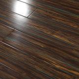 plancher en stratifié lustré élevé imperméable à l'eau de 12mm
