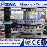 (AMD-357) Stahlblech mechanischer CNC-Drehkopf-lochende Maschine