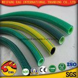 Manguito reforzado PVC flexible resistente UV- plástico del PVC
