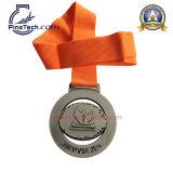 Медаль 2015 масленицы с античной серебряной отделкой и мягкой эмалью, свободно конструкцией произведения искысства