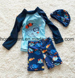 Nuovo vestito di nuoto di disegno per i capretti, le magliette di nuoto del ragazzo ed i pantaloni