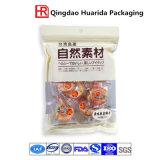 Sacchetti di imballaggio per alimenti con il sacchetto di plastica della chiusura lampo