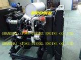 De Dieselmotor 6BTA5.9 van de Dieselmotor 4BTA3.9 van Cummins met Controlebord en Radiator voor Industrie