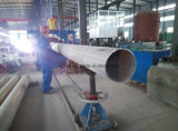 Tubulação entalhada sem emenda do aço inoxidável com Ce na fábrica