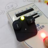 Teclado Backlit de borracha elástico do silicone do laser