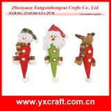 크리스마스 훈장 (ZY14Y201-1-2-3) 크리스마스 폴리에스테 직물 훈장