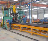 고품질 20FT 2개의 차축 제조자에서 평상형 트레일러 콘테이너 트레일러