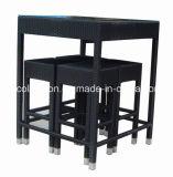 4 de het Rieten Geplaatste Meubilair van de Staaf Seaters/Staaf/Barkruk van de Lijst van de Staaf (Sc-A7188)
