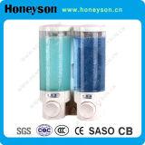 La stanza da bagno dell'hotel di Honeyson fornisce l'erogatore automatico del sapone