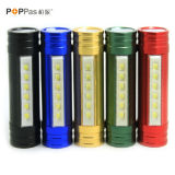 6PCS SMD LED 18650 Rechargeable PowerバンクのFlashlight /HeadlampのPoppas6616