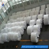Tissu tissé par pp stratifié blanc de polypropylène