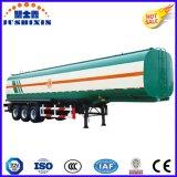 Axe 3 50000 litres du carbone d'acier de réservoir de carburant de remorque semi avec le silo 4