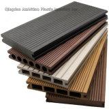 Plancher solide de bois de construction de WPC pour l'usage extérieur