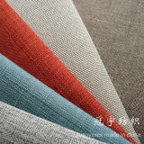 Oxford Imitation Linen Fabric con Knitted Backing