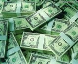 El atar del dinero de cinta de papel
