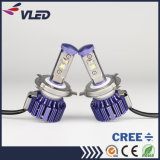 가장 새로운 헤드라이트 8000lm 6000k 3000k H4 H/L 차는 LED 맨 위 램프를 분해한다