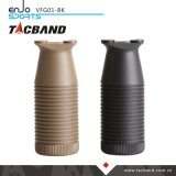 Apretón delantero vertical táctico de Tacband para Keymod - negro del compartimiento de W/Storage