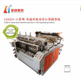 Bonne qualité Chzd-C Dual Channel Dual Drive T-Shirt Bag-Making Machine