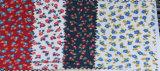 Laço floral impresso algodão de venda quente da tela