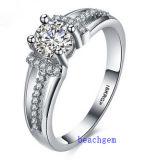 Heet verkoop de Ringen van het Messing van het Zirkoon van Juwelen (R0816)