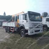 Sinotruk HOWO 6X4 10の荷車引きのトラックによって取付けられるクレーン