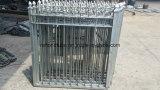 やりが付いている優雅な錬鉄の安全鋼鉄塀