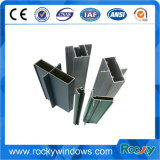 Aluminium deux profils de guichet de glissement de série de longerons