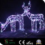 크리스마스 훈장 베스트셀러 제품 LED 점화 사슴