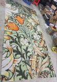 Rosen-Blumen-Muster-Glas-Mosaik-Muster-Wand-Fliese (HMP643)