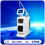Máquina da beleza do laser do ND YAG da remoção do tatuagem para o salão de beleza com interruptor de Q e pulso 1064nm longo