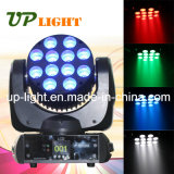 12 * 10W Mini Moving Head CREE LED Faisceau