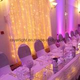 2x3m decoración al aire libre de PVC alambre de vacaciones de Navidad LED cortina de luz colorida