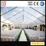 Tenda libera di cerimonia nuziale del tetto con la decorazione che allinea le tende dell'interno di cerimonia nuziale