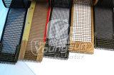Banda transportadora cubierta Teflon del acoplamiento abierto de la fibra de vidrio