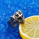 A jóia turca soa anéis dos anéis do crânio de Crossfit dos projetos para homens